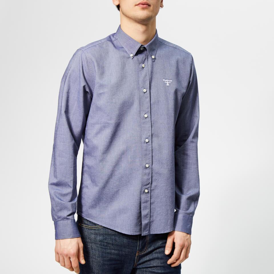 Barbour Men's Bere Shirt - Dark Denim - S - Blue