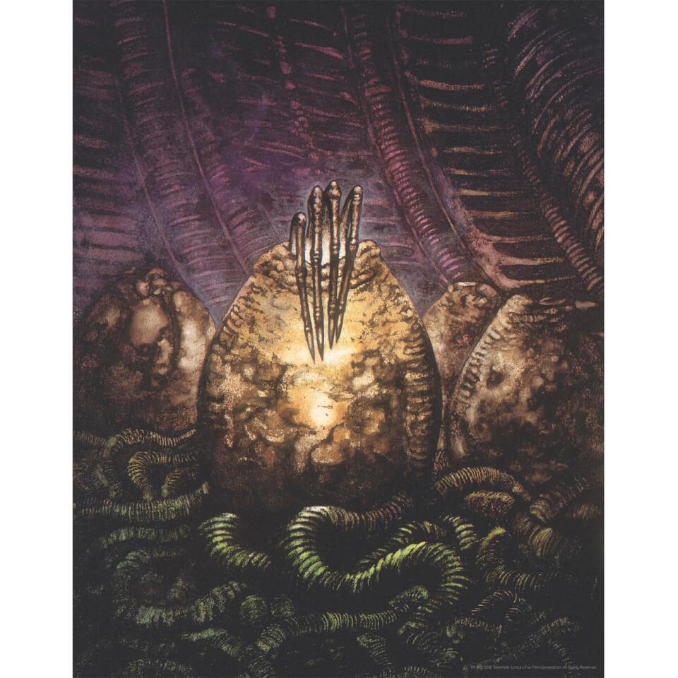 Alien Egg Limited Edition Art Print