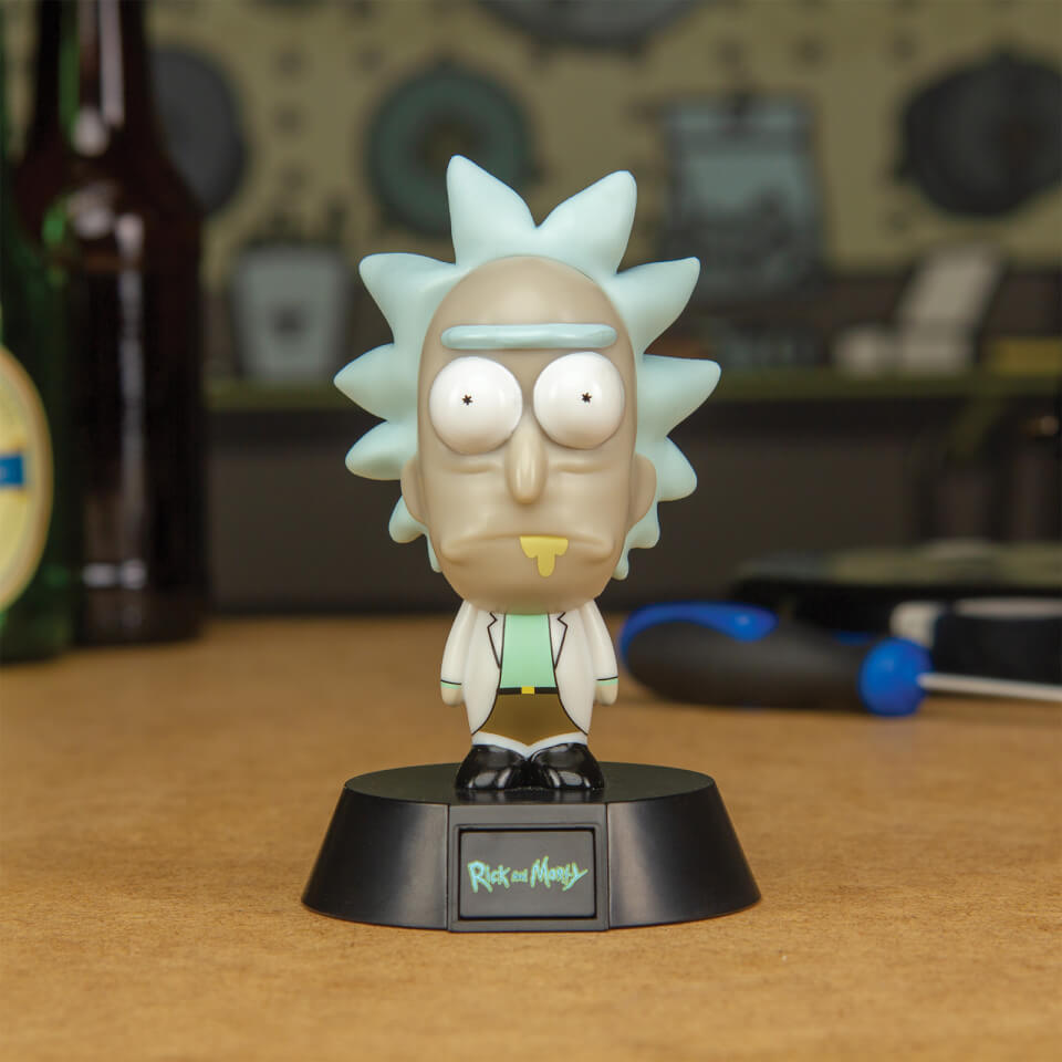 Rick and Morty Rick Logo Lampe