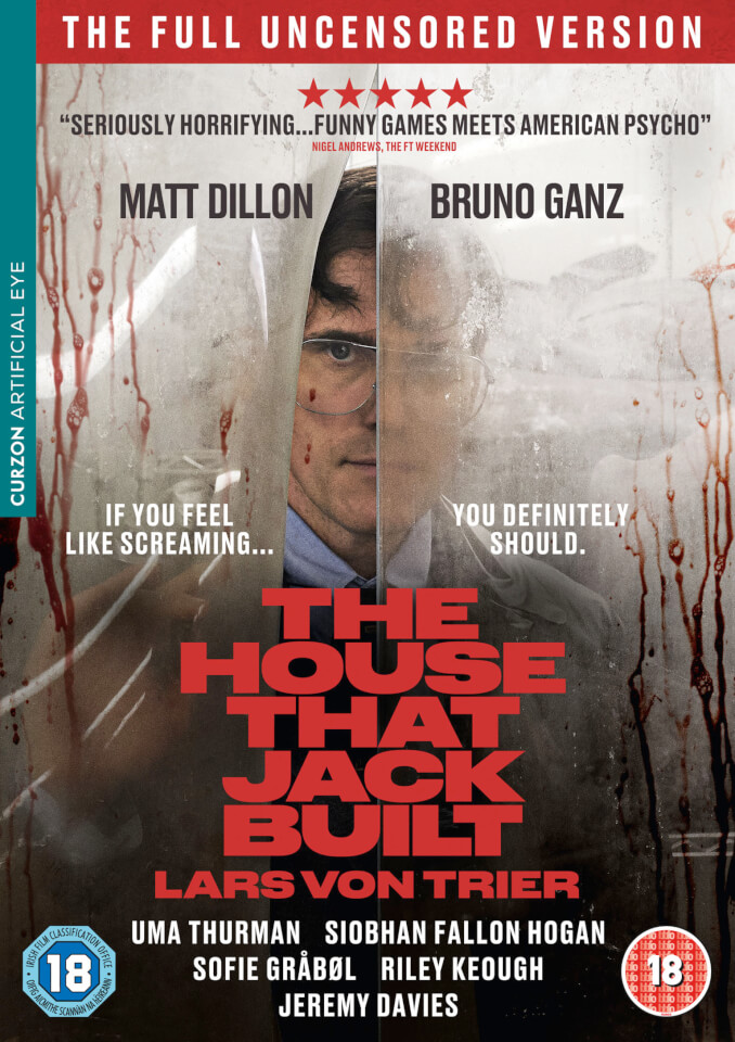 The House That Jack Built Dvd Zavvi
