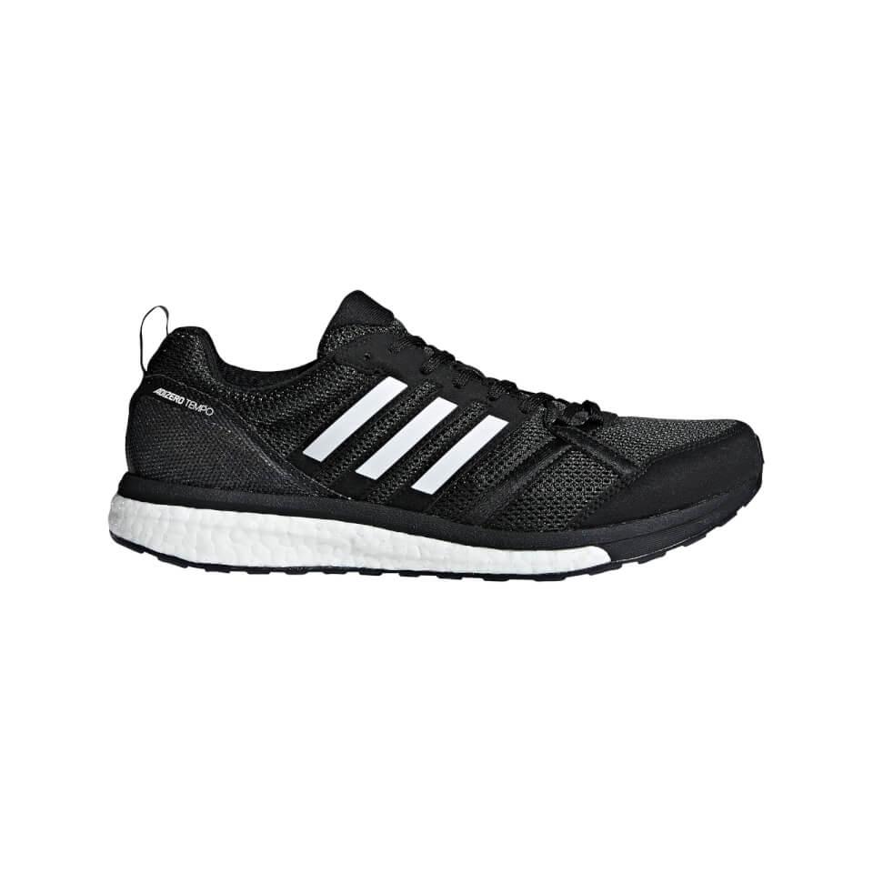 adidas Men's Adizero Tempo 9 Running Shoes - Black | Running shoes
