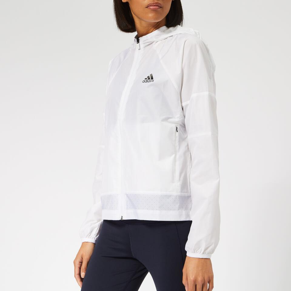 adidas Women's Sport 2 Street Wind Jacket - White | Jackets