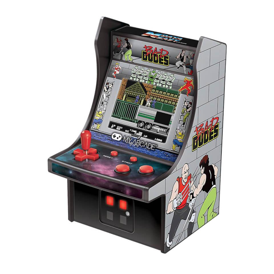 MyArcade 6  Retro Bad Dudes Micro Player