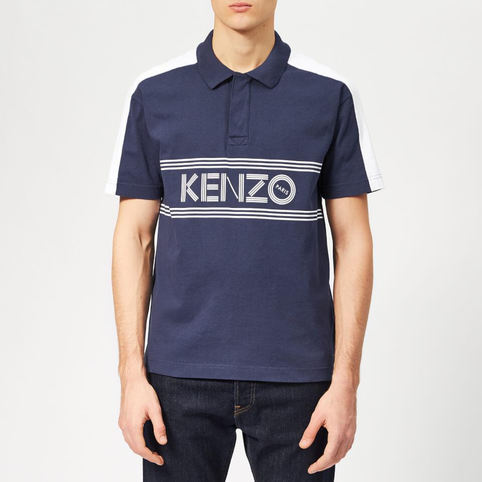 e8ad8f23 KENZO Men's Chest Logo Polo Shirt - Ink