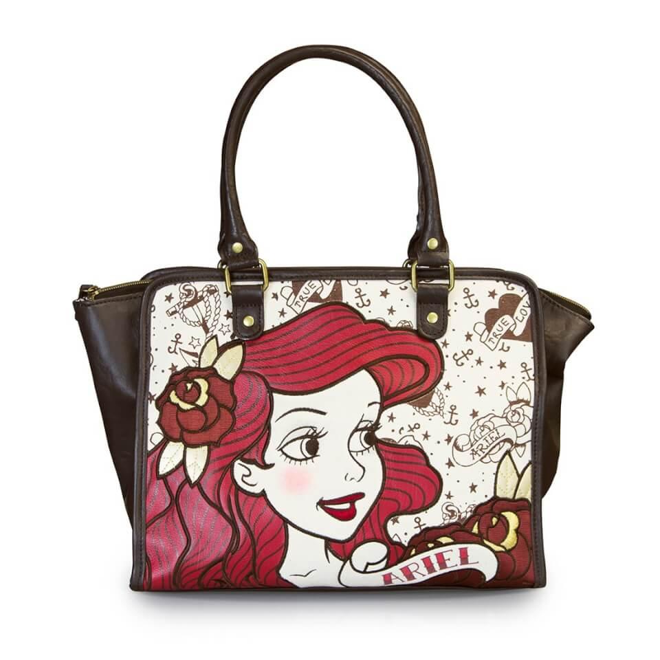 Loungefly Disney The Little Mermaid Ariel True Love Tote Bag