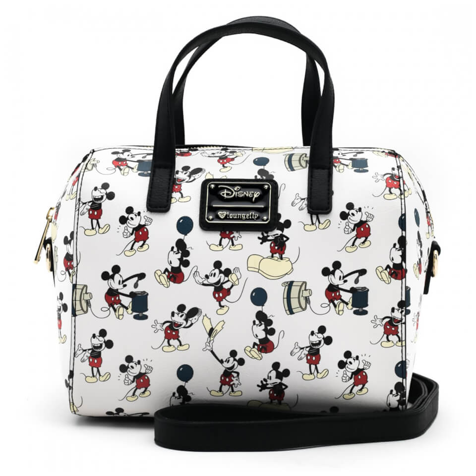 Loungefly Disney Mickey Mouse Mickey Poses Aop Bag