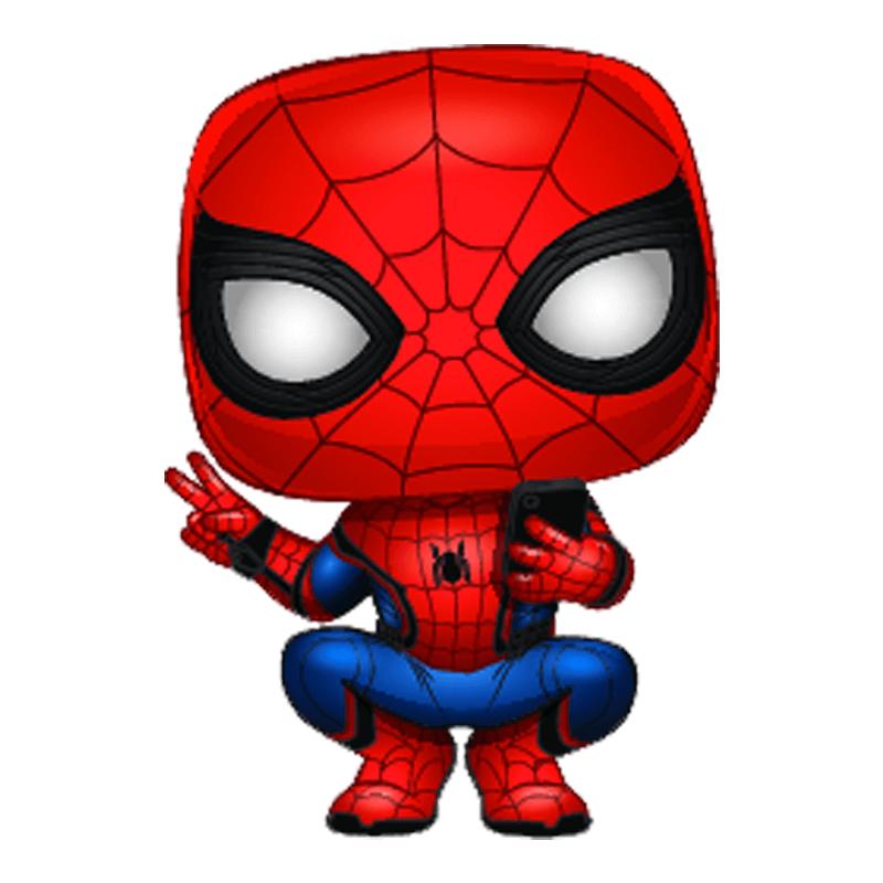 Spider Man Far From Home Spider Man Hero Suit Pop Vinyl