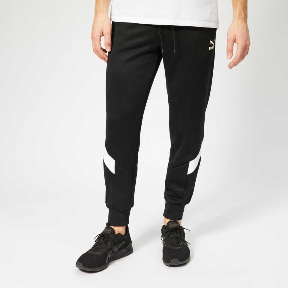 Puma Men's Iconic MCS Track Pants - Puma Black - S - Black