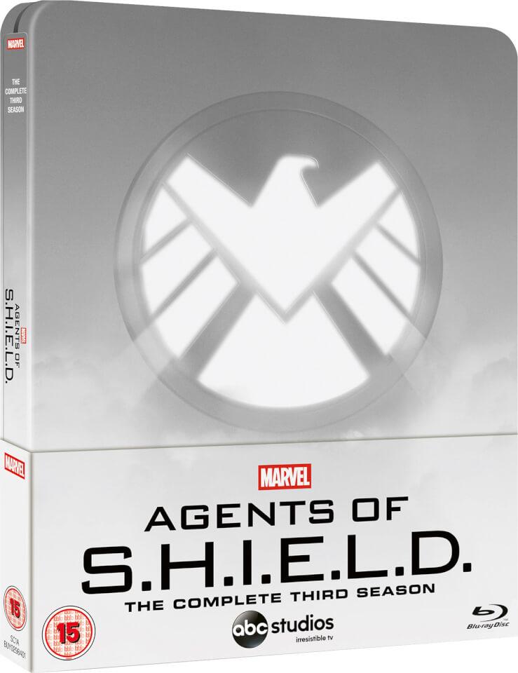 Marvel Agents of S.H.I.E.L.D. Temporada 3 - Steelbook Exclusivo de Zavvi