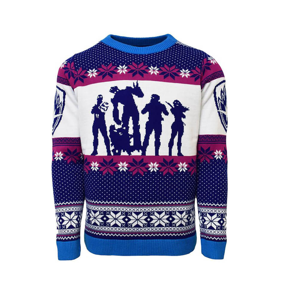 Guardians of the Galaxy Christmas Jumper - Blue - S - Azul