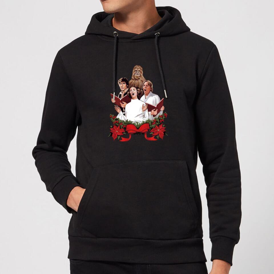 Nützlichfanartikel - Star Wars Jedi Carols Christmas Hoodie Black XXL Schwarz - Onlineshop Sowas Will Ich Auch
