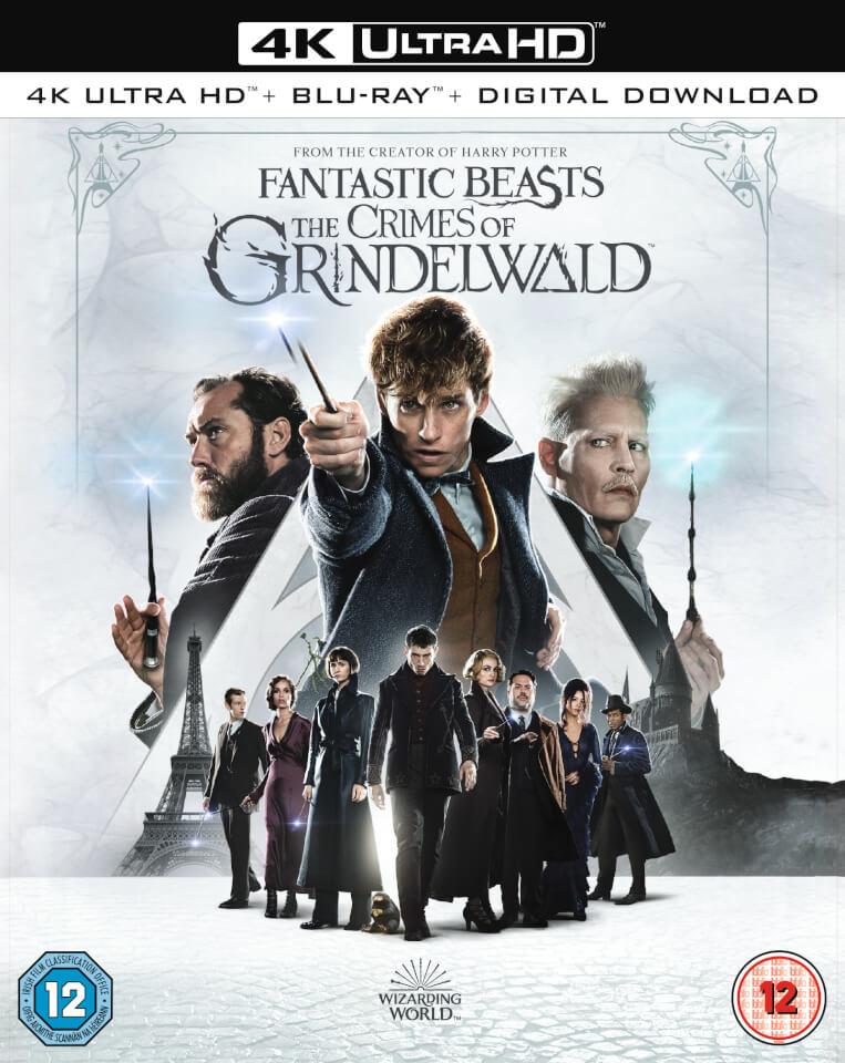 Fantastic Beasts: The Crimes of Grindelwald - 4K Ultra HD