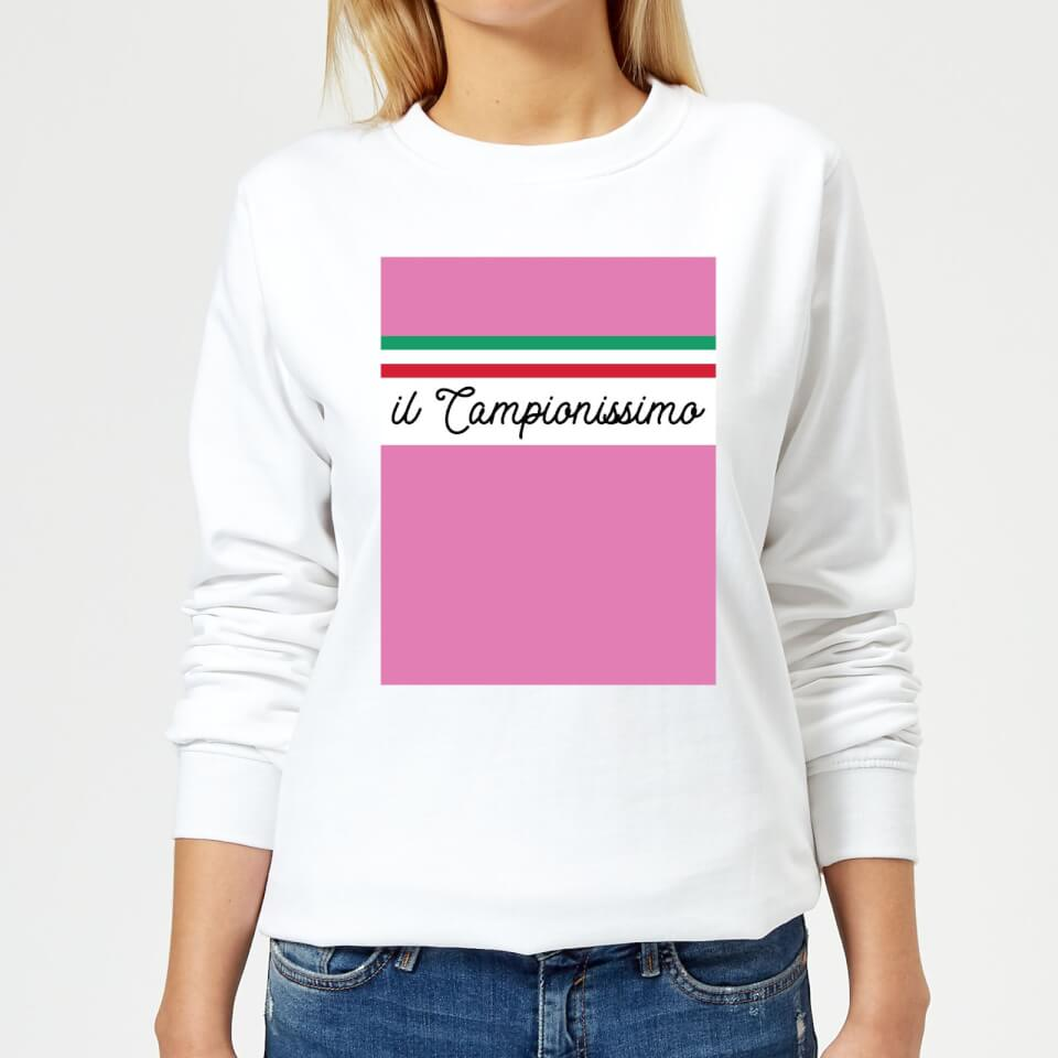 Summit Finish Il Campionissimo Women's Sweatshirt - White | Jerseys