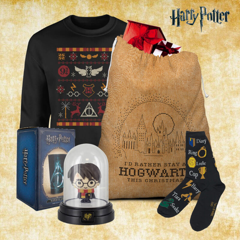 Harry Potter Christmas Gifts.Harry Potter Mega Christmas Gift Set Worth 55