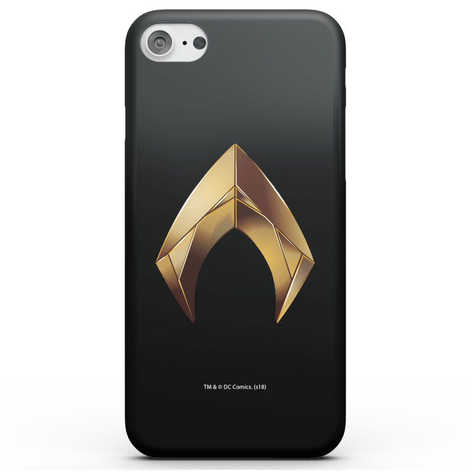Aquaman Gold Logo Phone Case for iPhone and Android - iPhone 5/5s - Carcasa doble capa - Brillante