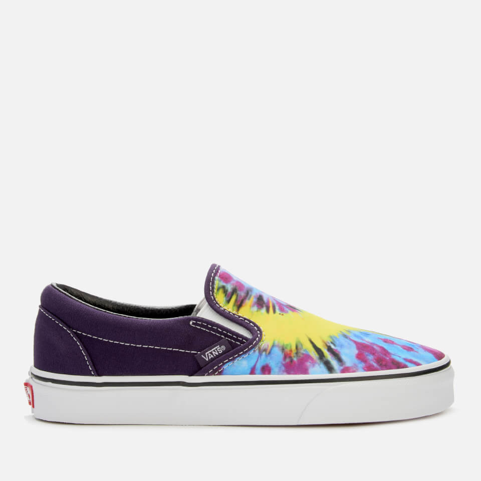 Tie Dye Classic Slip On Trainers MysteriosoTrue White UK 9