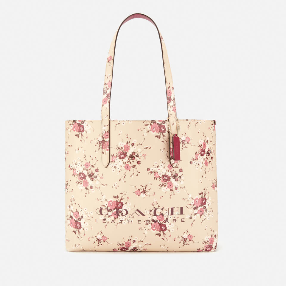 Coach Women S Floral Print Coach Highline Tote Bag Beechwood