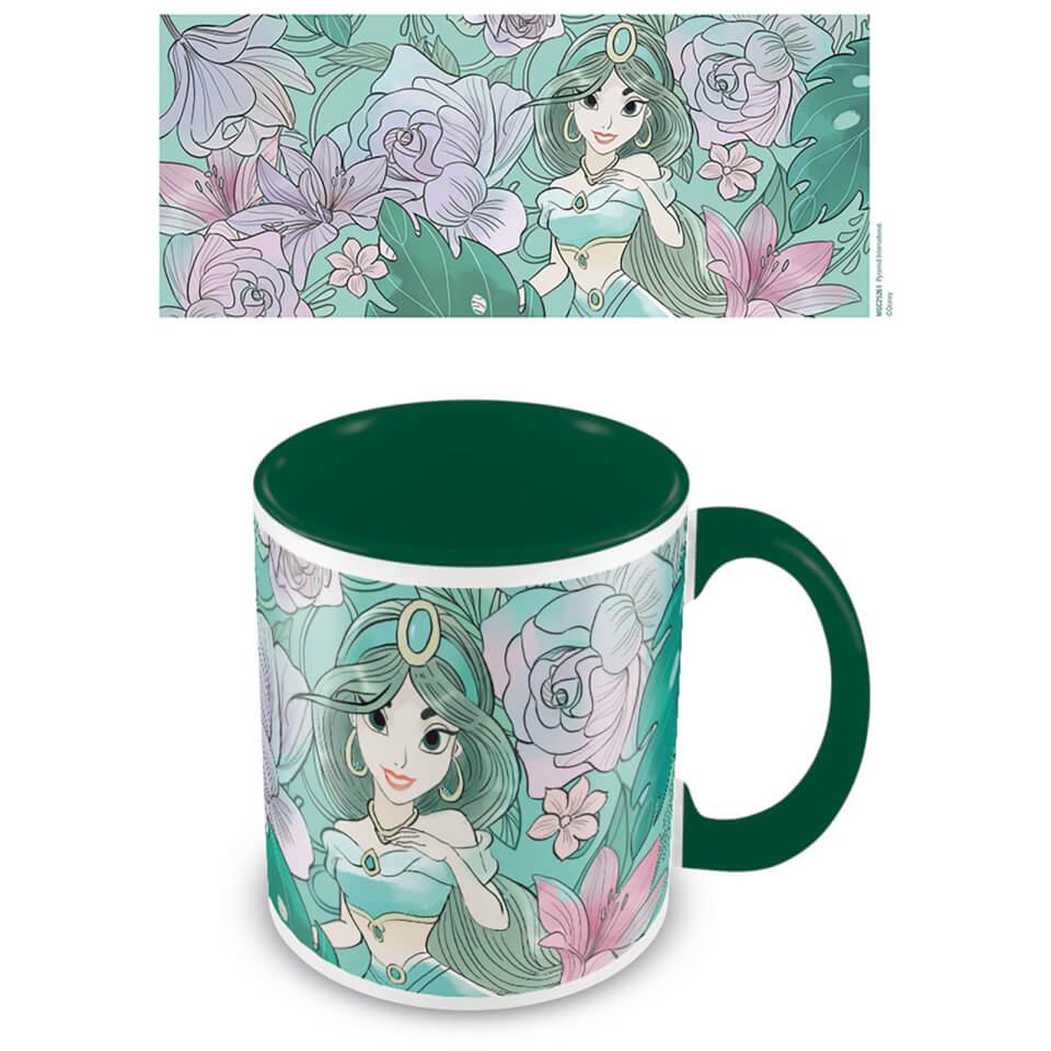 Aladdin (Floral Jasmine) Green Inner Mug