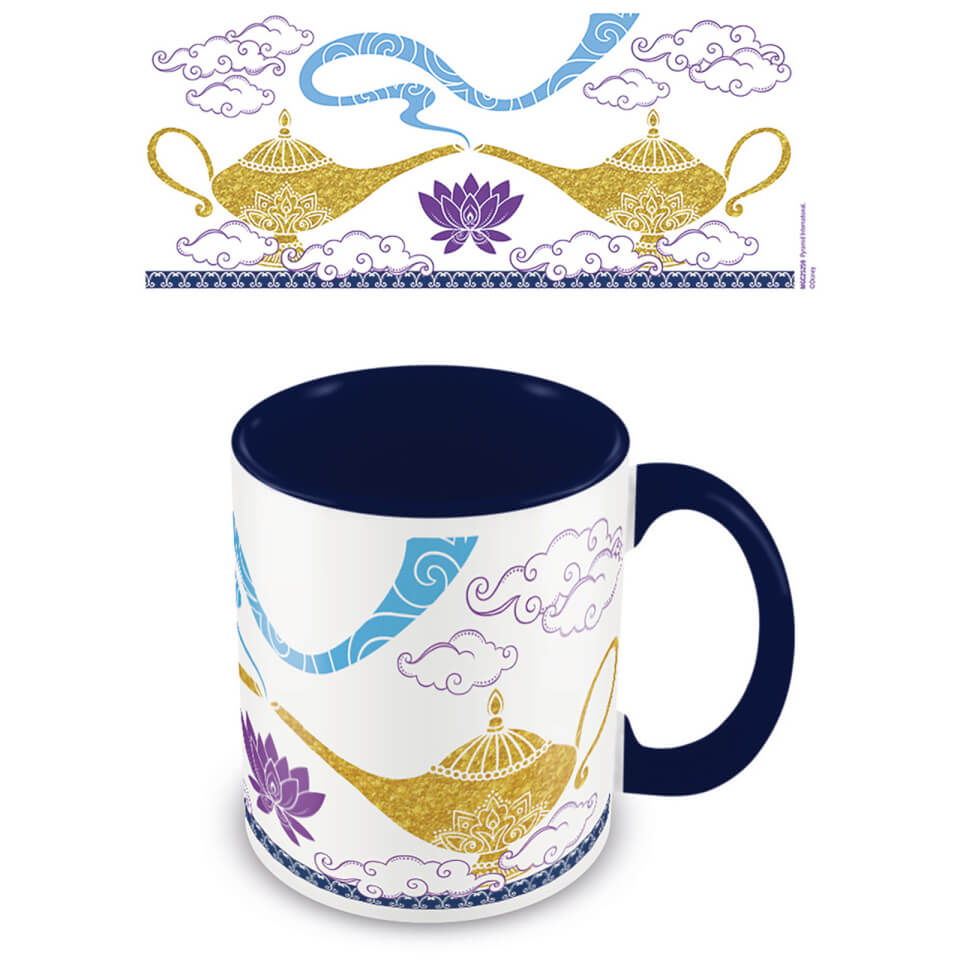 Aladdin (Magic Lamp) Blue Inner Mug