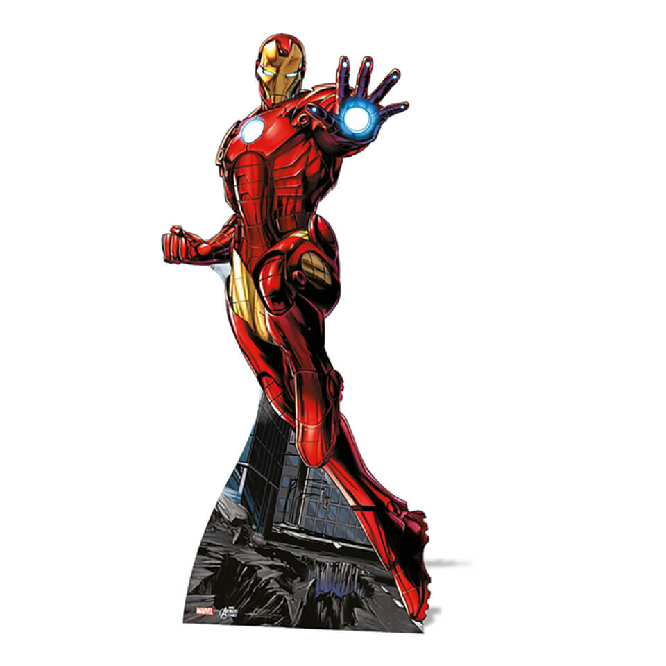 Marvel Iron Man Mini Cardboard Cut Out
