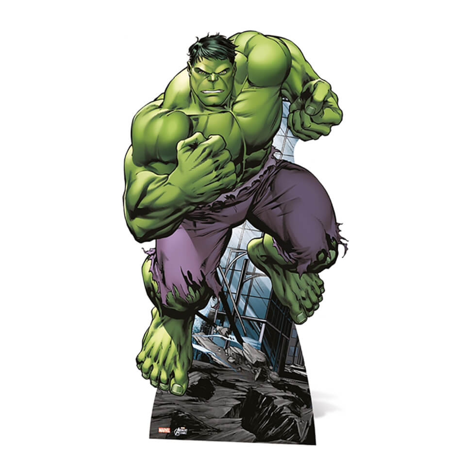 Marvel Hulk Mini Cardboard Cut Out