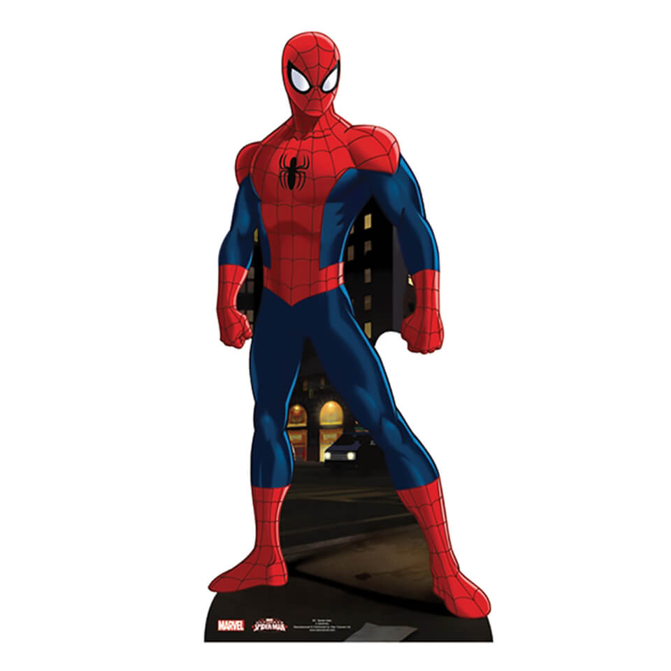 Marvel Spider Man Mini Carboard Cut Out