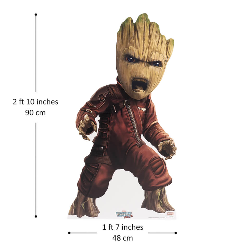 Marvel Baby Groot Guardian Mini Cardboard Cut Out