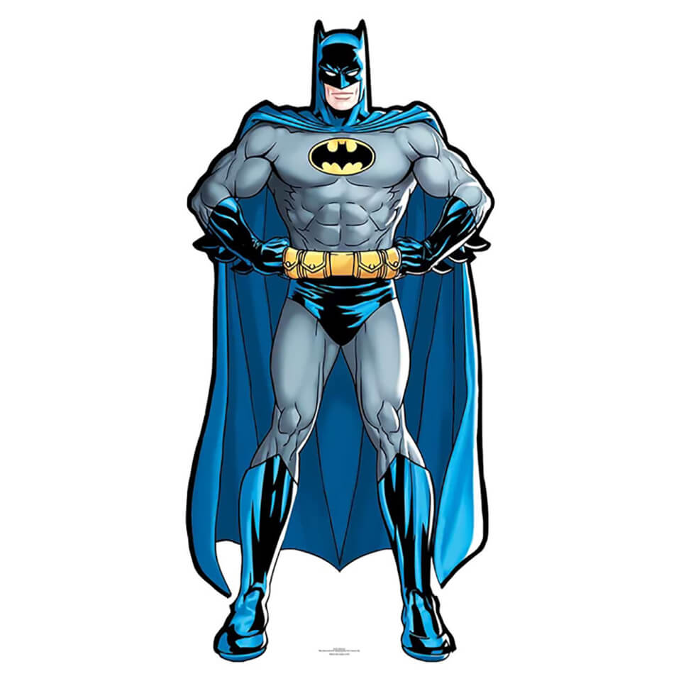 DC Batman Mini Cardboard Cut Out