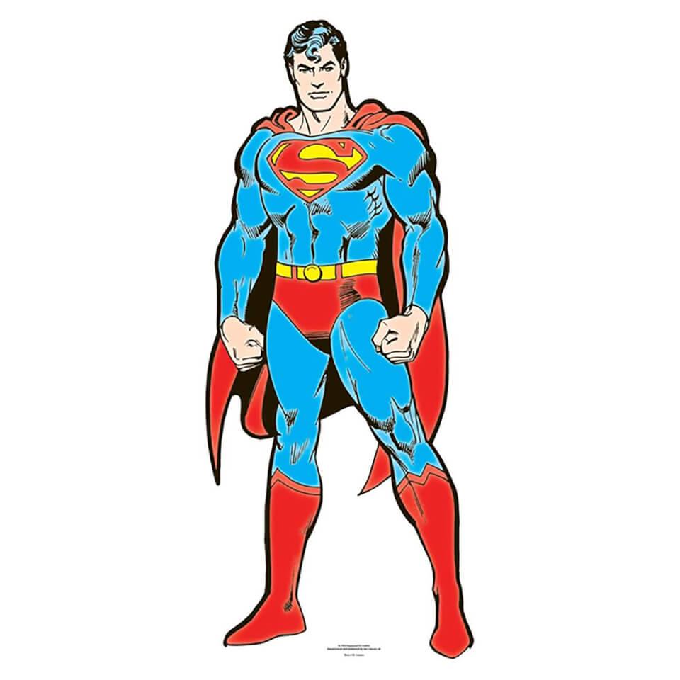 DC Superman Mini Cardboard Cut Out