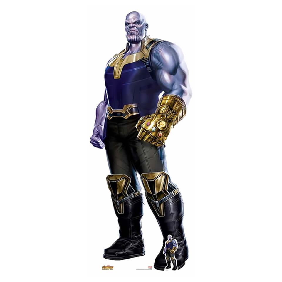 Avengers Infinity War Thanos Lifesize Cardboard Cut Out