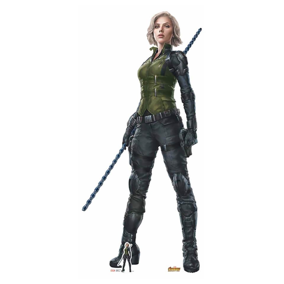 Avengers Infinity War Black Widow Lifesize Cardboard Cut Out