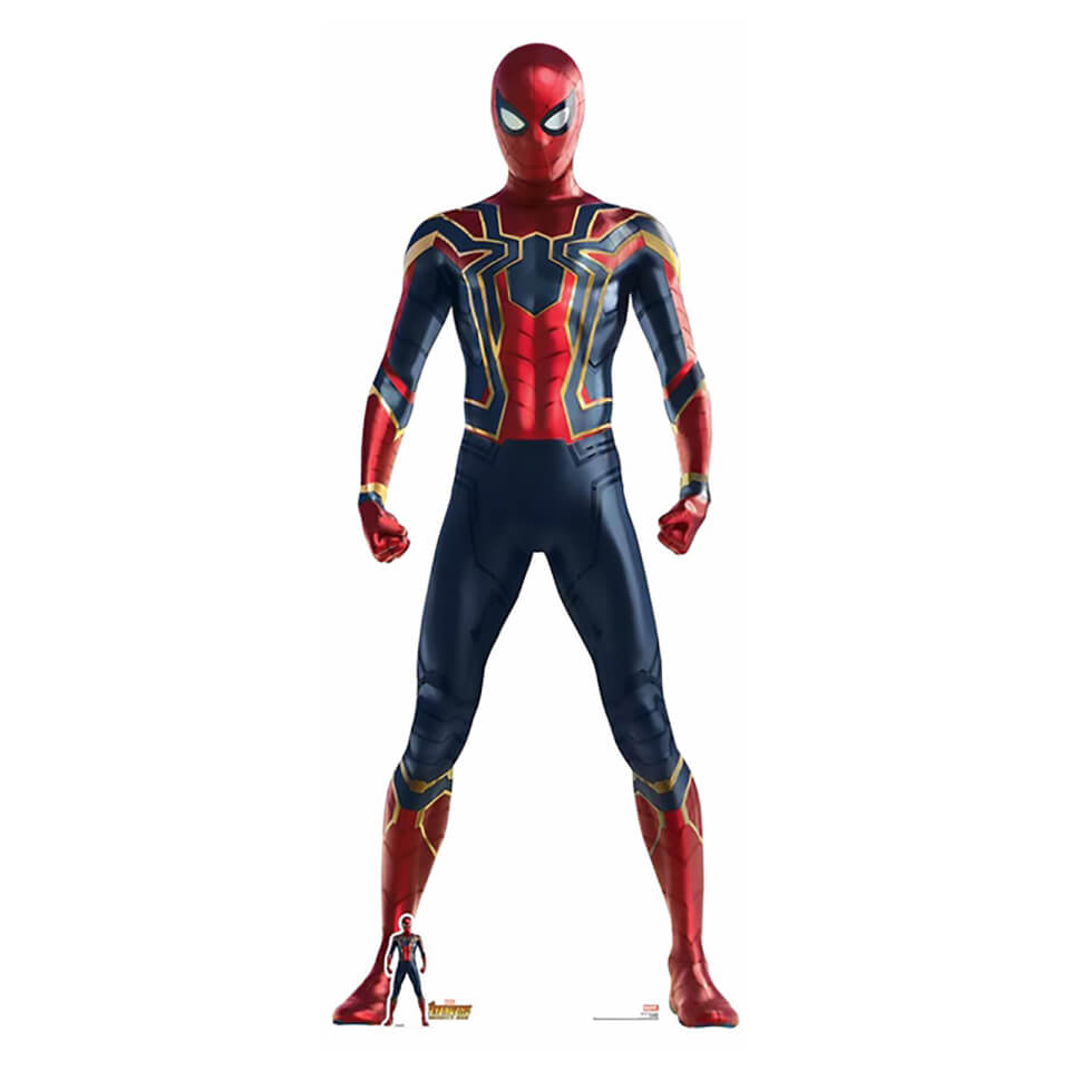 Avengers Infinity War Iron Spider Lifesize Cardboard Cut Out