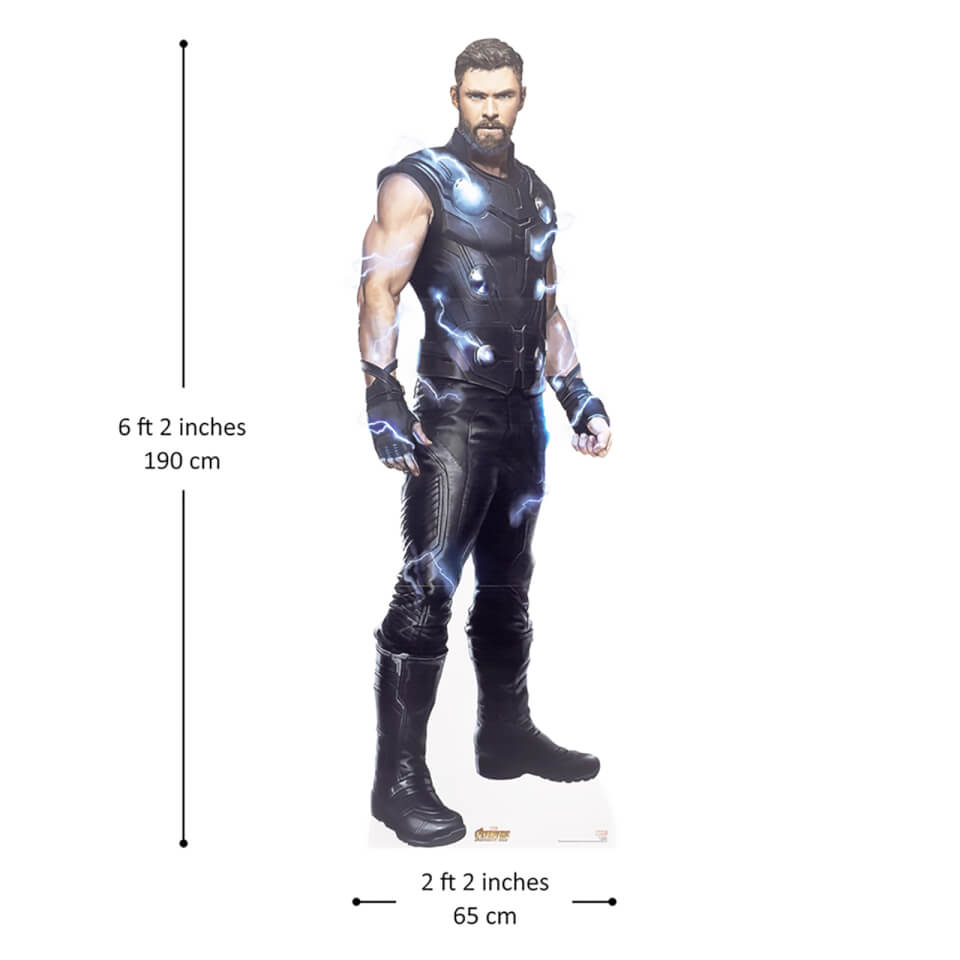 Avengers Infinity War Ultimate Thor Lifesize Cardboard Cut Out