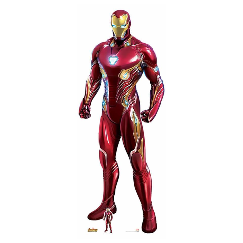 Avengers Infinity War Ironman Lifesize Cardboard Cut Out