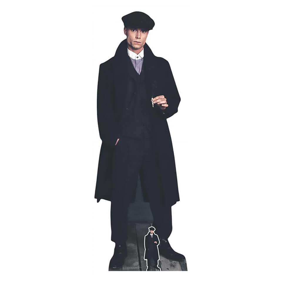 1920's Style Peaky Blinders Gangster Smoking Lifesize Cardboard Cut Out