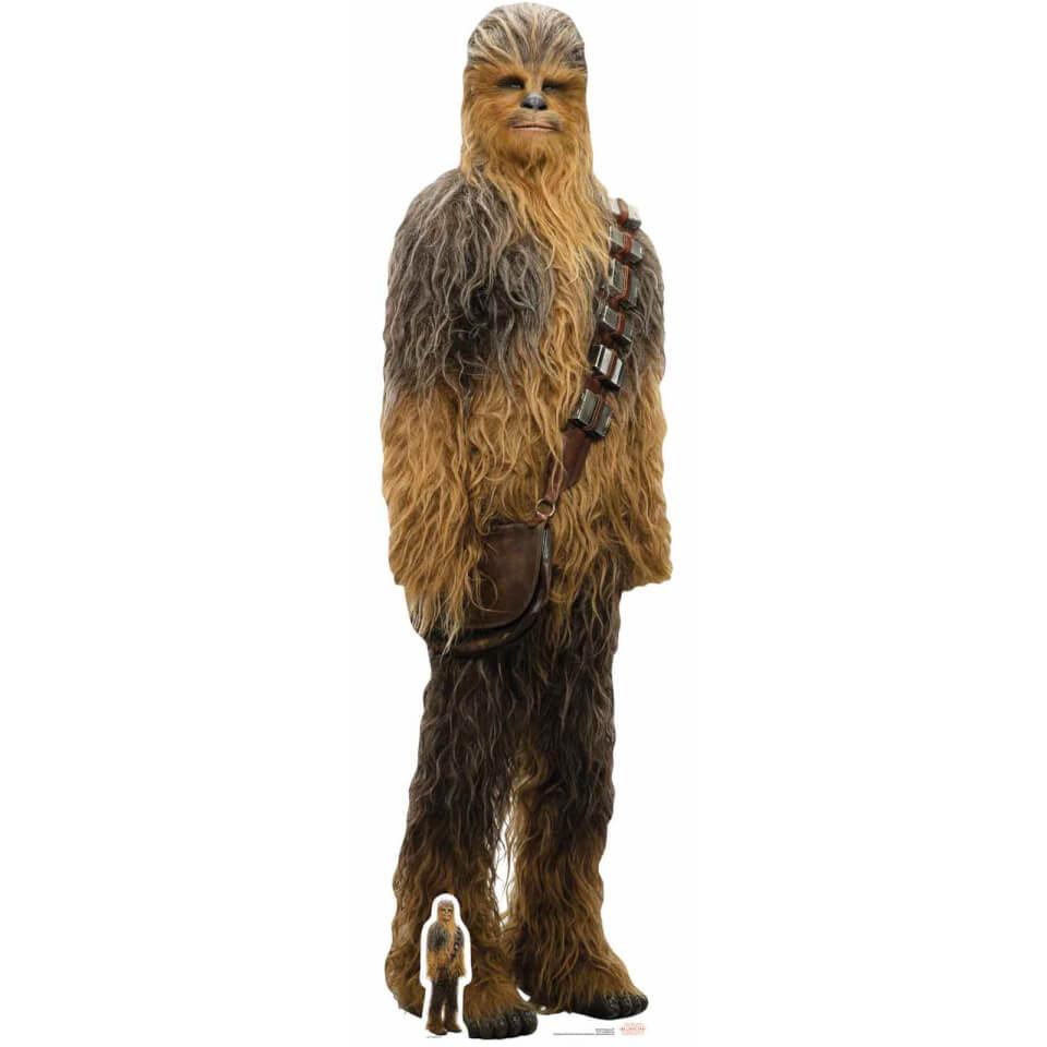 Star Wars The Last Jedi Chewbacca Lifesize Cardboard Cut Out