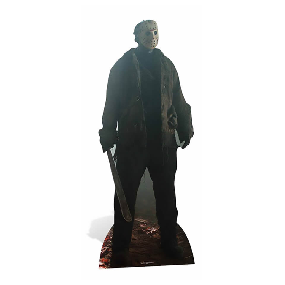 Friday the 13th Jason Voorhees Lifesize Cardboard Cut Out