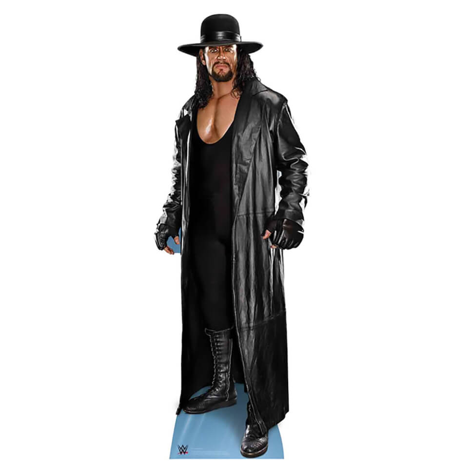 WWE The Undertaker Hat and Coat Lifesize Cardboard Cut Out
