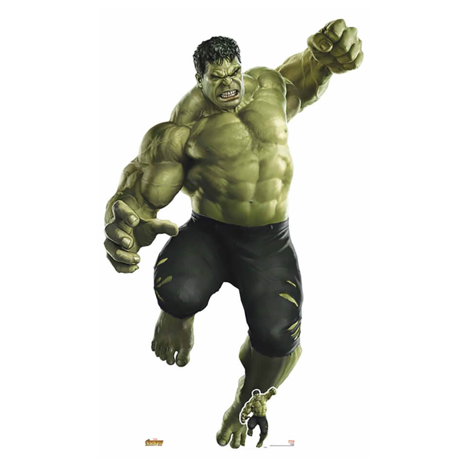 Avengers: Infinity War - Hulk Smash! (Giant) Cardboard Cut Out