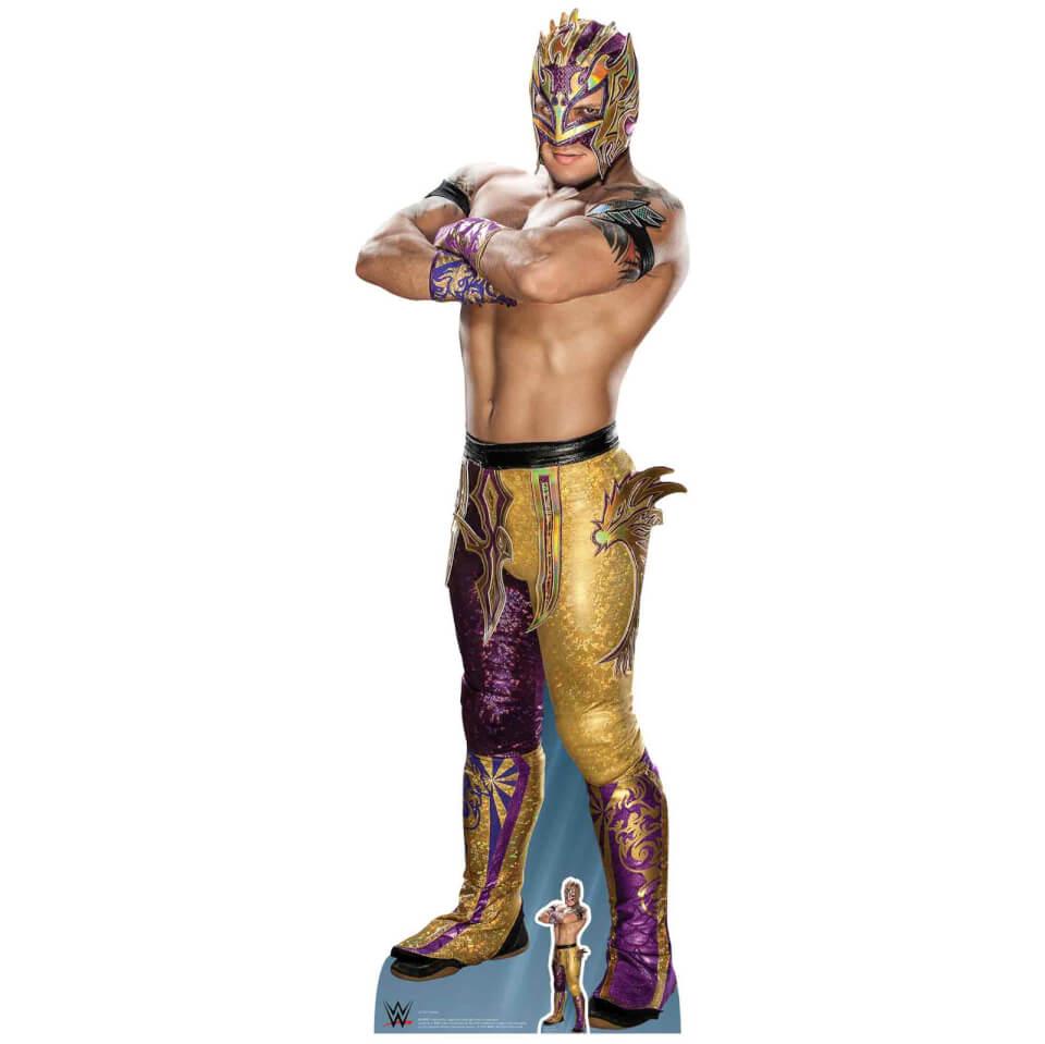 Nützlichfanartikel - WWE Kalisto Lifesizes Cardboard Cut Out - Onlineshop Sowas Will Ich Auch