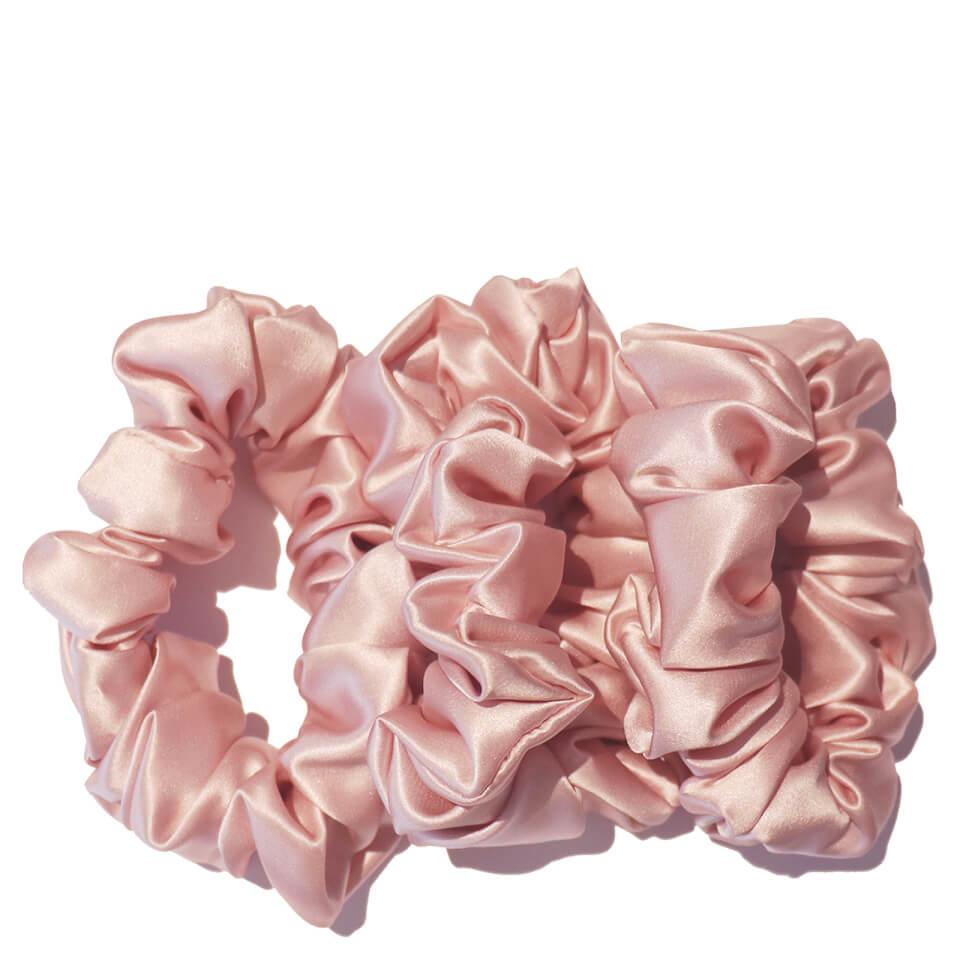 Slip Silk Large Scrunchies - Pink (Pack of 3)