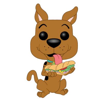00aadcc198 Scooby Doo - Scooby Doo w  Sandwich Animation Pop! Vinyl Figure ...