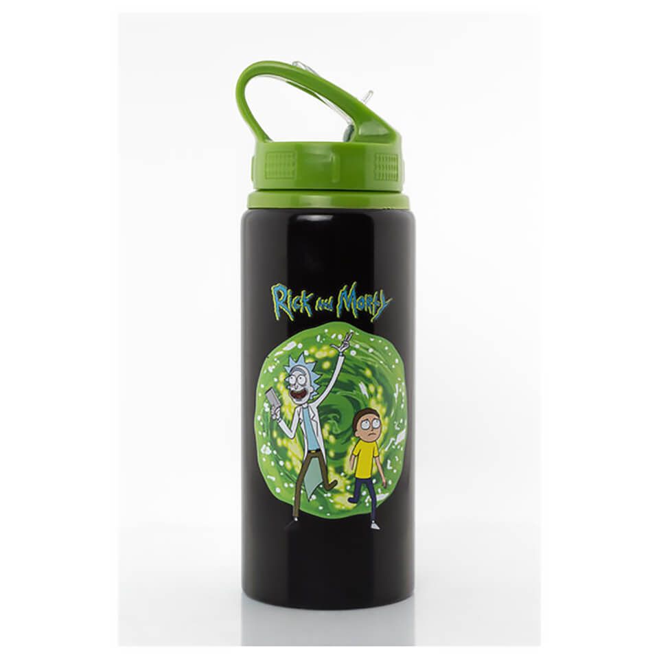Rick and Morty Drinks Bottle