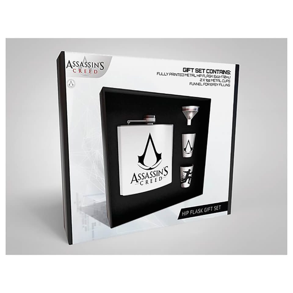 Assassin's Creed Hip Flask Set