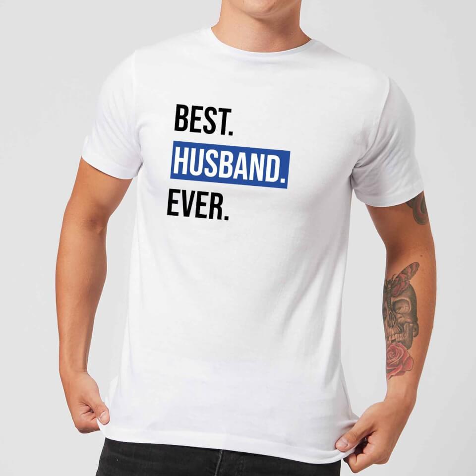 Ausgefallengadgets - Best Husband Ever Men's T Shirt White XXL Weiß - Onlineshop Sowas Will Ich Auch