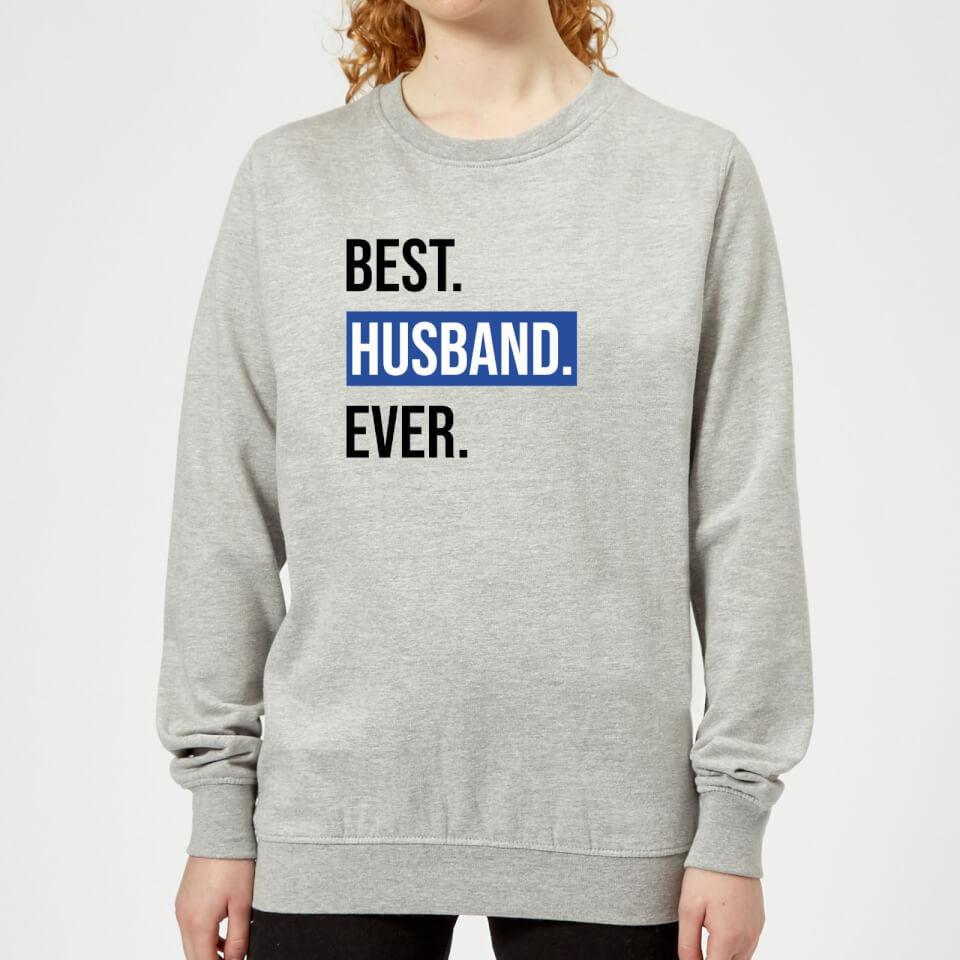 Ausgefallengadgets - Best Husband Ever Women's Sweatshirt Grey XXL Grau - Onlineshop Sowas Will Ich Auch
