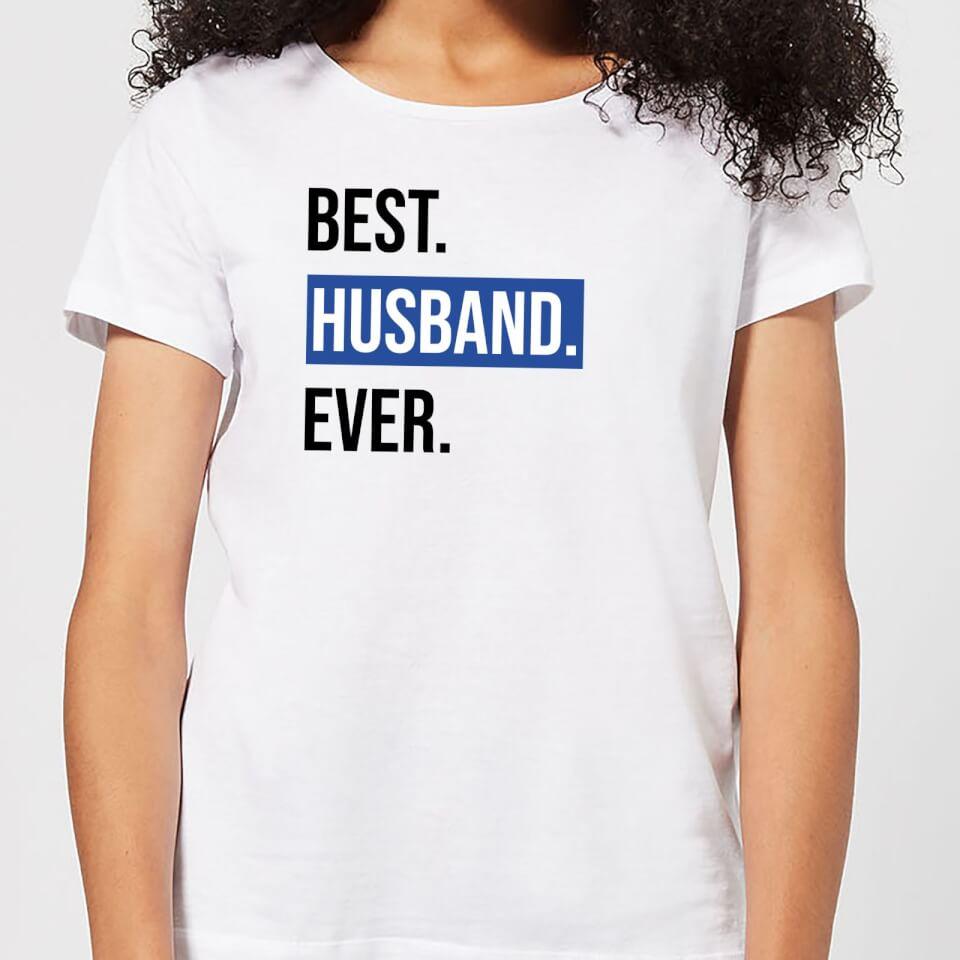 Ausgefallengadgets - Best Husband Ever Women's T Shirt White XXL Weiß - Onlineshop Sowas Will Ich Auch