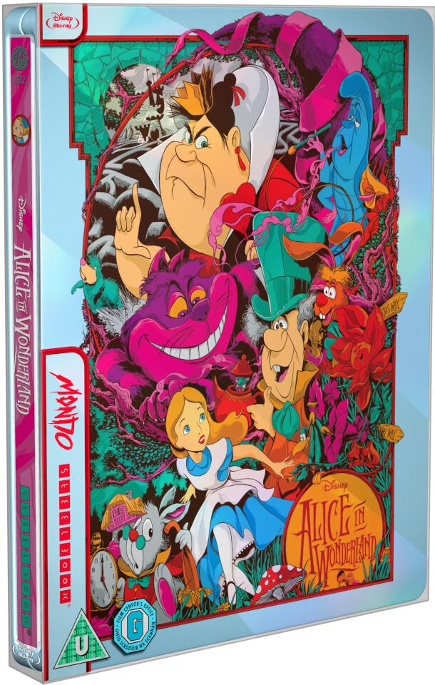 Alicia en el País de las Maravillas - Steelbook Mondo #32 Edición Limitada Exclusivo de Zavvi (Edición GB)