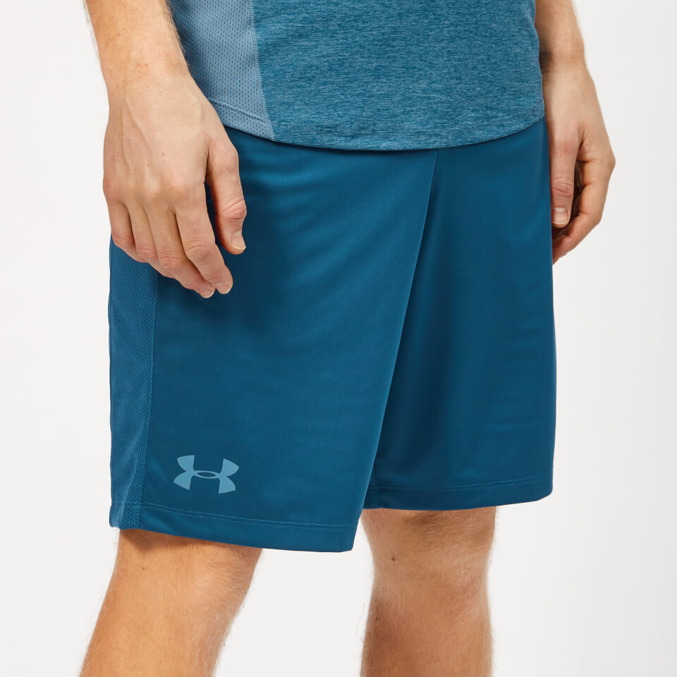 Under Armour Men's MK-1 Shorts - Petrol Blue/Thunder - S - Blue