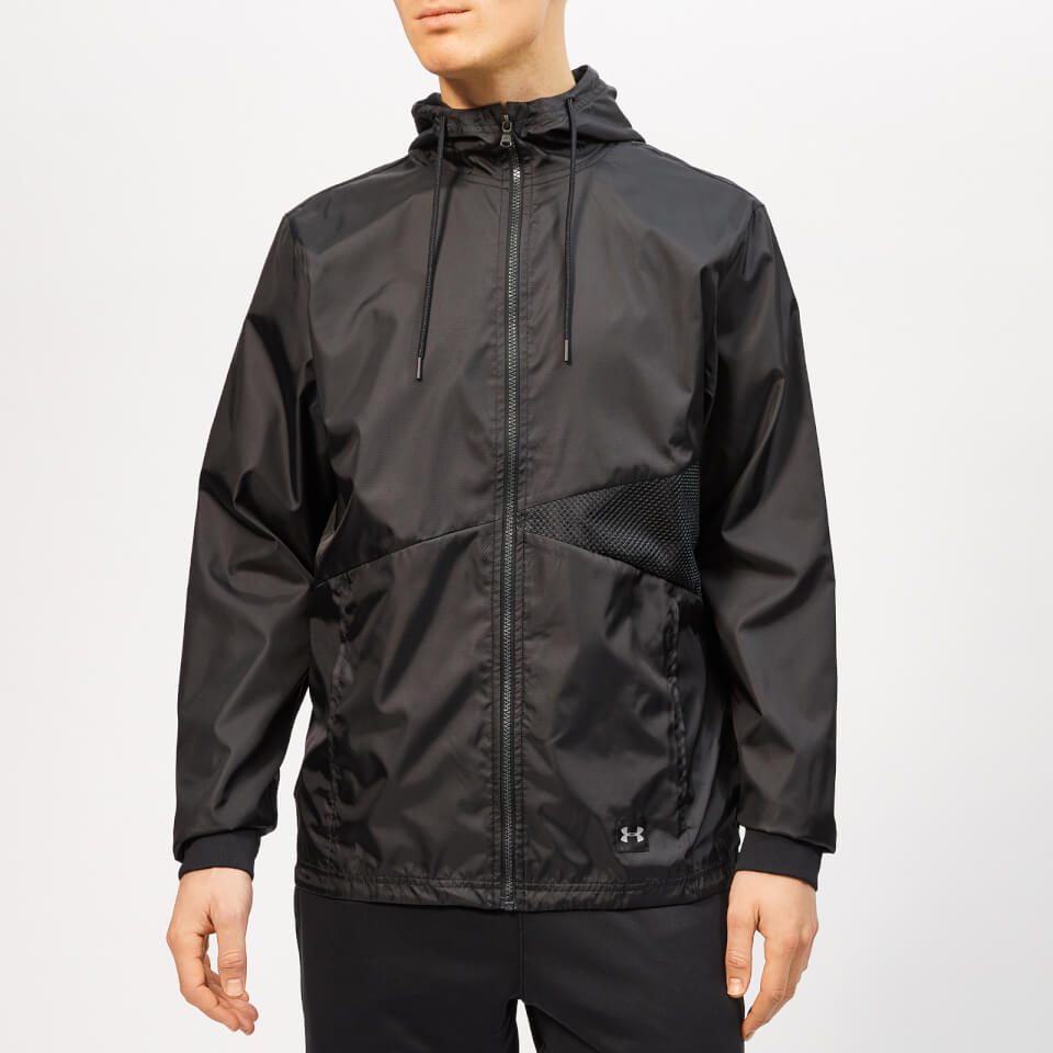 Under Armour Men's Unstoppable Windbreaker Jacket - Black - S - Black